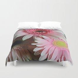 Pink Daisy Boquet Duvet Cover