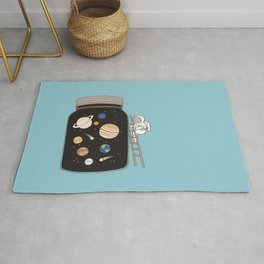 confined space Rug