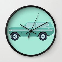 International Harvester Scout Wall Clock