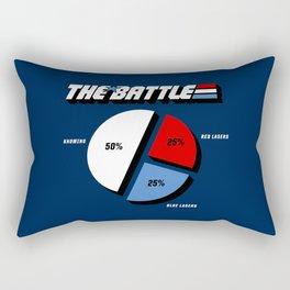 The Battle Rectangular Pillow