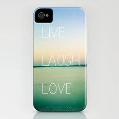 Live Laugh Love iPhone (4, 4s) Slim Case