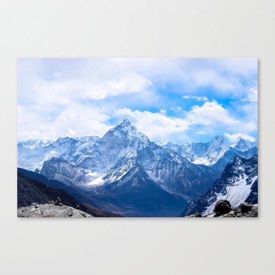 Mountains on My Mind Canvas Print