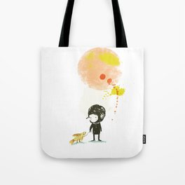 Lester, take a walk. Tote Bag