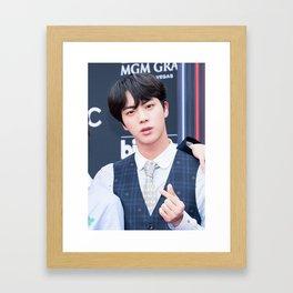 Jin / BTS Framed Art Print