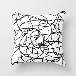 Agonize Throw Pillow