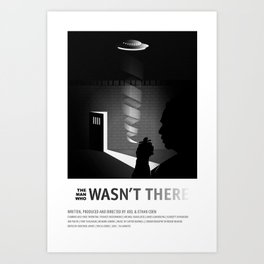 THE MAN WHO WASN'T THERE (2001) Art Print