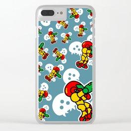 Chibisamus II Clear iPhone Case