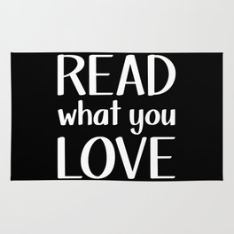 Read What You Love - Inverted Rug