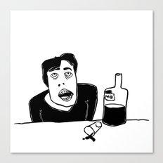 Vodka Canvas Print