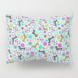 Dachshund Garden Party Pillow Sham