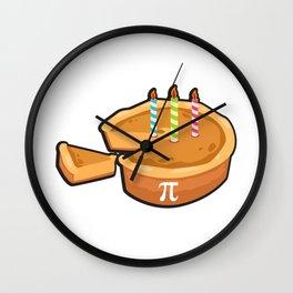 3.14.18 Pi Day Birthday Math Funny Gifts Wall Clock