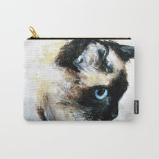 Siamese Cat Carry-All Pouch