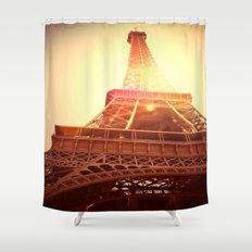 Eiffel Tower II Shower Curtain