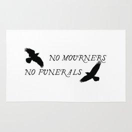 No mourners no funerals SOC Rug