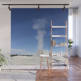 White Dome Eruption Wall Mural