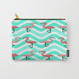 Flamingo Two Step Carry-All Pouch