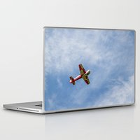 airplane Laptop & iPad Skins featuring Airplane by Fernando Derkoski