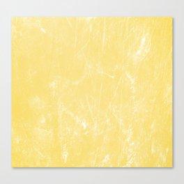Flaxen Yellow Canvas Print