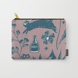 Prancing Rabbit Carry-All Pouch