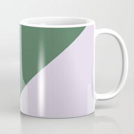 Army Green & Powder pink - oblique Coffee Mug