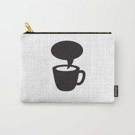 Coffee cup dialogue Carry-All Pouch
