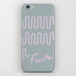 Fuck Conformity // Toothpaste #2 iPhone Skin