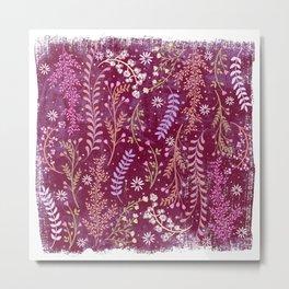 Wild-flowery Meadow Metal Print