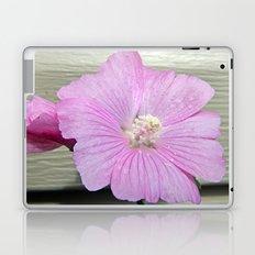 Pink Musk Mallow Pollen Overflow Laptop & iPad Skin