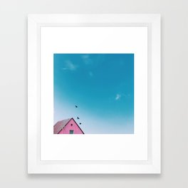 my pop car Framed Art Print