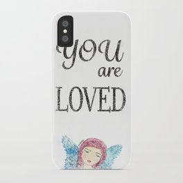You are Loved iPhone Case