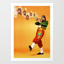 Magic Shriner Art Print