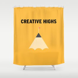 Highs Shower Curtain