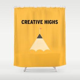 Highs Shower Curtain