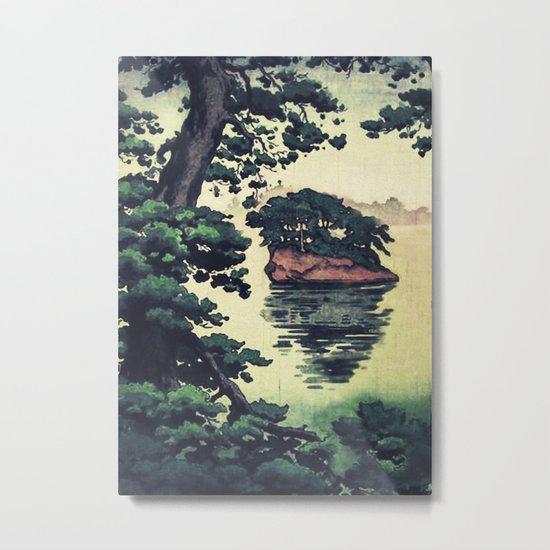 Autumn Rain in Yama Metal Print