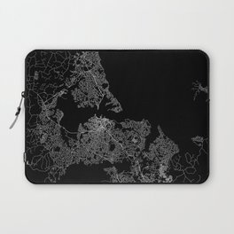 Auckland map New Zeland Laptop Sleeve