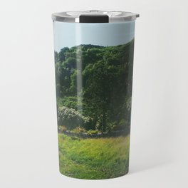 Cottage By the Sea Travel Mug