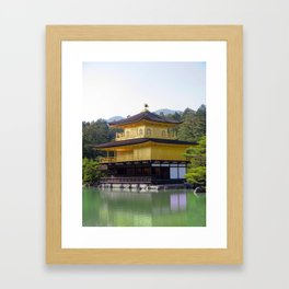 The Golden Pavilion III Framed Art Print