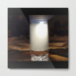 Smokey Glass Metal Print