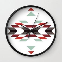 NAVAJO PRINT Wall Clock