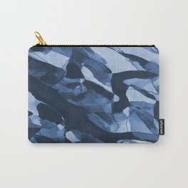 Turning Tide Navy Blues #pattern #decor #society6 Carry-All Pouch
