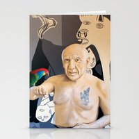picasso Stationery Cards featuring Picasso by Matthew Lake