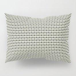 Heartless Pattern in Yellow Pillow Sham