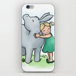 Donkey Friend iPhone Skin