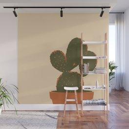 Cactus plant minimalist Wall Mural