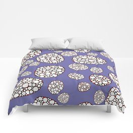 Purple conglomerate Comforters