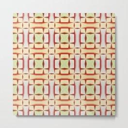 Abstract seamless pattern Metal Print