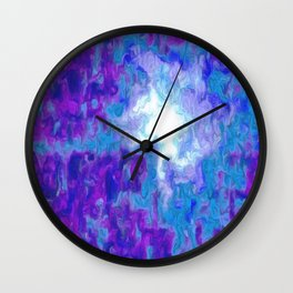 Moon beam Wall Clock