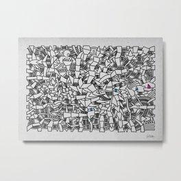 - fresque_01 - Metal Print
