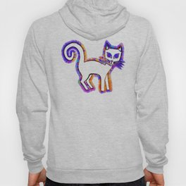 Any cat is a cat from his whiskers to his tail... Hoody