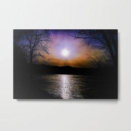 Whimsical Sunset Metal Print